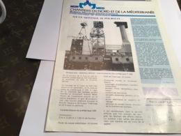 1985 Normed Chantier Du Nord Et De La Méditerranée Bulletin Mensuel D'information établissement De Dunkerque Le Montage - Reclame