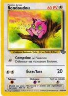 Carte Pokemon 54/64 Rondoudou 60pv 1995 Wizards - Pokemon