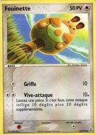 Carte Pokemon 62/92 Fouinette 50pv 2006 - Pokemon