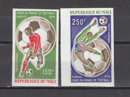 Football / Soccer / Fussball - WM 1974:  Mali  2 W **, Imperf. - 1974 – Westdeutschland