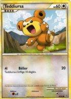 Carte Pokemon 65/95 Teddiurna 60pv 2010 - Pokemon