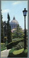 °°° Cartolina - Cupola Della Basilica Di S. Pietro Dai Giardini Vaticani Nuova °°° - San Pietro