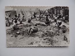 59 MALO_Les_BAINS Jeux De Plage Animé Enfants Oblitération Champigny-Sur-Yonne - Malo Les Bains
