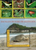 NICARAGUA 2005 REPTILES AMPHIBIANS - Non Classificati