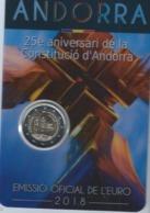 2euro; Commémorative ANDORRE 2018 --port  2 Euros 30    Libre Desuite - Andorra