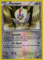 Carte Pokemon 111/124 Furaiglon 50pv 2012 Reverse - Pokemon