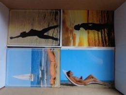Doos Postkaarten (3kg380) Allerlei Landen (ook België) En Thema's (zie Enkele Foto's) - Postkaarten