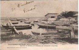 TAUSSAT Les BAINS - Entrée Du Chenal Et Cabanes De Parqueurs D'huitres - Autres Communes