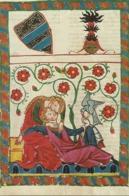 NO 7435 Konrad Von Altstetten, Manesse-Handschrift. - Antigüedad