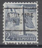 USA Precancel Vorausentwertung Preo, Locals Michigan, Bellaire 703 - Vorausentwertungen