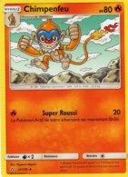 Carte Pokemon 22/156 Chimpenfeu 80pv 2018 - Pokemon