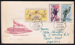 Czechoslovakia 1956 / Sport / Olympic Games Melbourne, Athletics / Basketball / Cycling - Sommer 1956: Melbourne