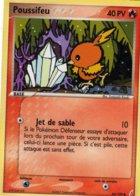 Carte Pokemon 66/100 Poussifeu 40pv 2007 - Pokemon