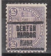USA Precancel Vorausentwertung Preo, Locals Michigan, Benton Harbor 701-207 - Vereinigte Staaten