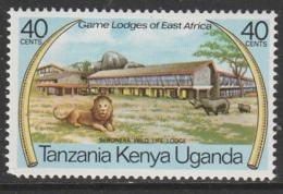 Kenya  1975 East African Game Lodges 40 C Multicoloured SW 257 ** MNH - Kenya (1963-...)