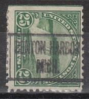 USA Precancel Vorausentwertung Preo, Locals Michigan, Benton Harbor 568-L-2 HS - Vorausentwertungen