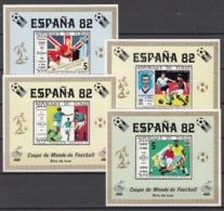 Football / Soccer / Fussball - WM 1982: Tschad  4  SoBl ** - Fußball-Weltmeisterschaft