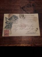 Cartolina Intero Postale 1927, Cuneo, Terme Di Valdieri - Cuneo