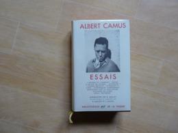 Albert Camus Essais Bibliothèque De La Pléiade   (D) - La Pléiade