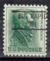 USA Precancel Vorausentwertung Preo, Locals Michigan, Big Rapids 841 - Vorausentwertungen