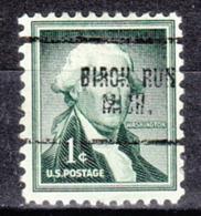 USA Precancel Vorausentwertung Preo, Locals Michigan, Birch Run 704 - Vorausentwertungen