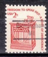 USA Precancel Vorausentwertung Preo, Locals Michigan, Birmingham 843 - Vorausentwertungen