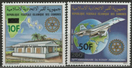 Comores YT PA 190 + 192 XX / MNH - Comoros