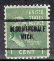 USA Precancel Vorausentwertung Preo, Locals Michigan, Bloomingdale 704 - Vorausentwertungen