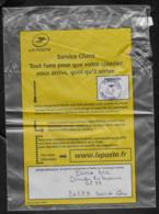 Enveloppe Plastique Pour Courrier Déterioré Avec Lettre D'excuses . 14/12/2018.Bastia . - Lettres & Documents