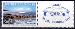 Polynésie Française Tahiti Récifs Coralliens Environnement Nature 1986 Paysages - Tahiti