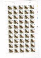 FEUILLE ENTIERE BUZIN ** / MNH PREO 816 DEPART 1,30  PL 2 - Full Sheets
