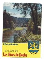CPM - L'ENTRE - ROCHES (25) Les Rives Du Doubs (Blason) - Non Classés