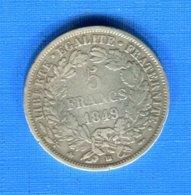 5  Fr  1849  Bb - J. 5 Franchi