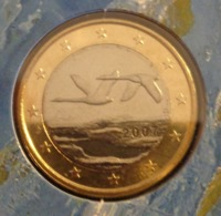 ===== 1 Euro Finlande 2007 Sorti Du BU (8 Pièces) Mais Légèrement Oxydé ===== - Finland