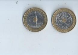 Monaie Francaise --20fr Commemorative 1993 - Gedenkmünzen