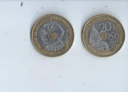 Monaie Francaise --20fr Commemorative 1994 - Gedenkmünzen