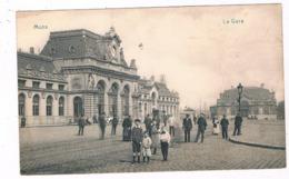 B-7358   MONS : La Gare - Mons