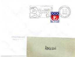 VAL De MARNE - Dépt N° 94 VILLENEUVE St GEORGES Ppal 1966 = FLAMME Codée = SECAP  ' N° De CODE POSTAL / PENSEZ-Y ' - Postleitzahl