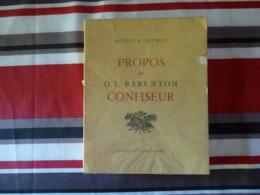 Propos De O L Barenton Par Auguste Detoeuf 1956   (T) - Livres, BD, Revues