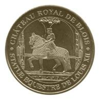 Monnaie De Paris , 2018 , Blois , Château Royal , Statue équestre De Louis XII - Monnaie De Paris