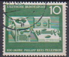BRD 1961 MiNr.373  100 Jahre Telefon Von Philipp Reis ( A597 ) Günstige Versandkosten - BRD