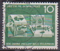 BRD 1961 MiNr.373  100 Jahre Telefon Von Philipp Reis ( A598 ) Günstige Versandkosten - BRD