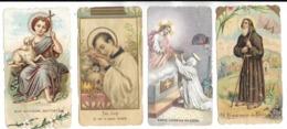 Santino Immagine Immagini Religiose Di Santini Di S.giovanni S.luigi S.caterina S,francesco (v.retro Scritta Religiosa) - Religione & Esoterismo