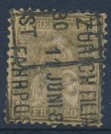"HELVETIA - Mi Nr 28 C - Staande Helvetia Debout - Gest./obl. ""ZURICH-FILIAL - FAHRPOST"" - Cote 120,00 € - (ref. 1560) - Used Stamps"