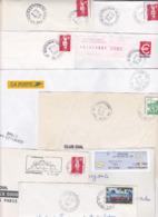 Lot Département 67 BAS RHIN : 43 Plis TàD Manuel & SECAP De GA AN Guichet Annexe APC Agence Postale Dont Strasbourg ... - Marcofilie (Brieven)