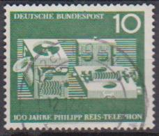 BRD 1961 MiNr.373  100 Jahre Telefon Von Philipp Reis ( A600 ) Günstige Versandkosten - BRD