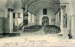CPA 88 Vosges La Lorraine Illustée HOUECOURT Nef De L'Eglise 1903 - Altri Comuni