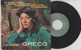Disque Vinyle 45 Tours—Juliette Gréco—De Pantin à Pékin—432 392 BE—1960 - 45 G - Maxi-Single