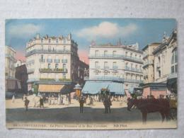 Algeria / Constantine - La Place Nemours Et La Rue Caraman, 1918. - Constantine