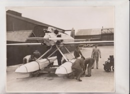 ILE SEAPLANE FELIXSTOWE 25*20CM Fonds Victor FORBIN 1864-1947 - Aviation